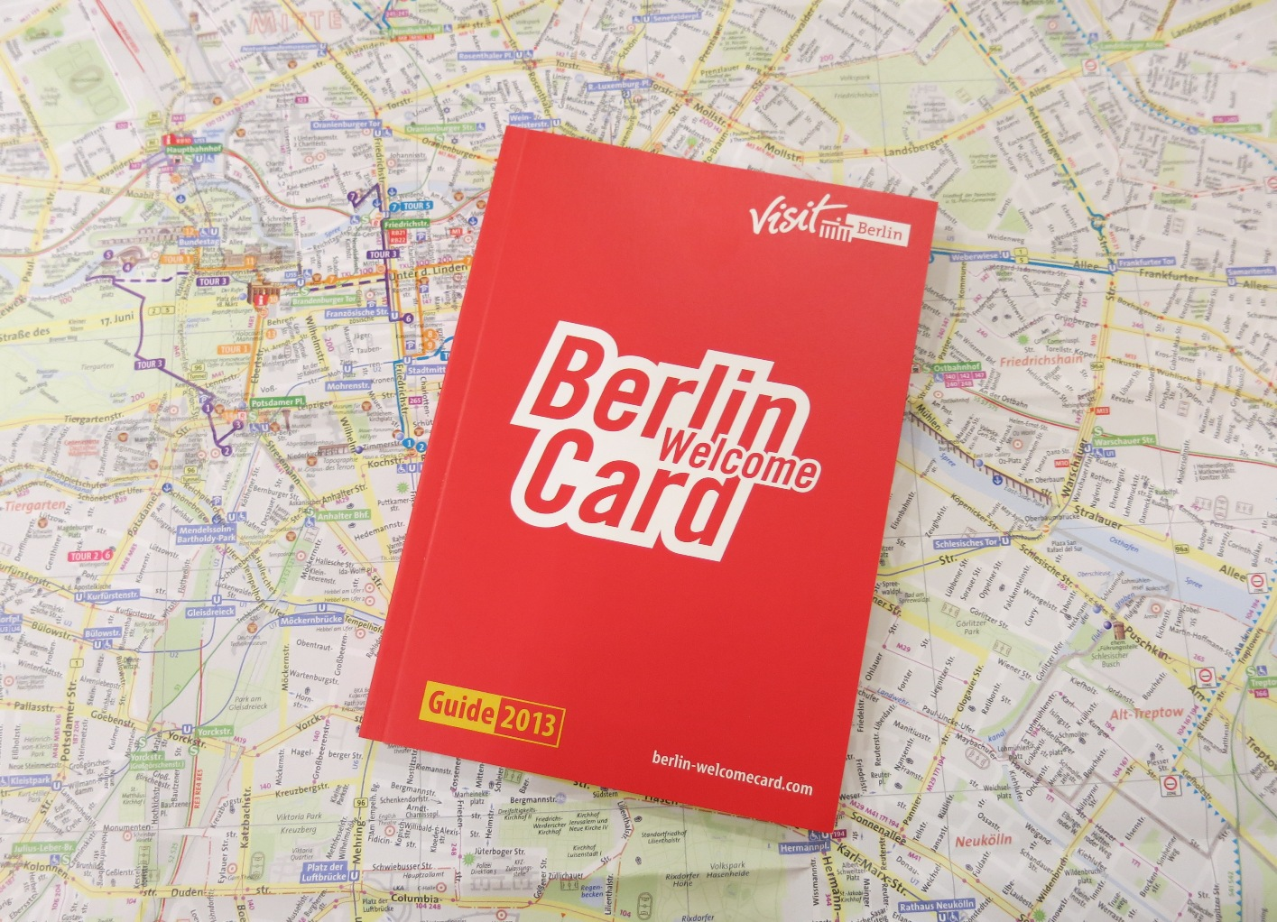 Touristenticket Berlin Welcomecard Hotel Steglitz International